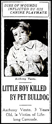 Anthony Vento, 1921