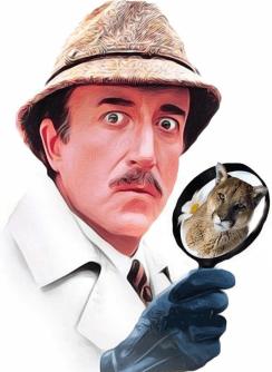 Inspector Clouseau sees a puma