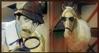 Inspector Clouseau meets Mr. Ed.
