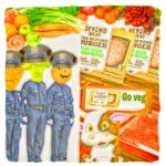 Beyond Meat:  supermarket invasion trips vegan police alarms