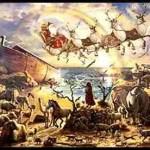 Reindeer stand between us & the next Great Flood
