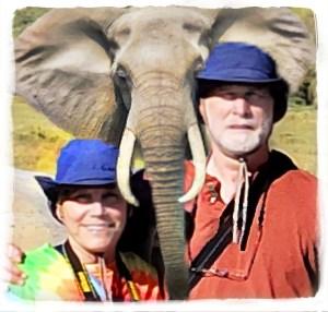Beth, Merritt, elephant