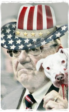 Sheriff Joe Arpaio and dog