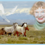 Hope Ryden, 87, revealed the lives of wild horses,  beaver,  & coyotes