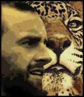 John Walsh & lion