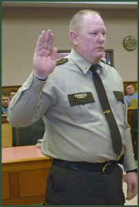 Morton County Sheriff Kyle Kirchmeir.