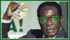 Robert Mugabe, ruling Zimbabwe since 1980. Judge Royce Lamberth expressed skepticism of Zimbabwean wildlife conservation under the Mugabe regime. (Beth Clifton collage)