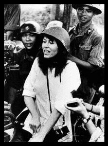 Jane Fonda in Hanoi. (Wikipedia photo)