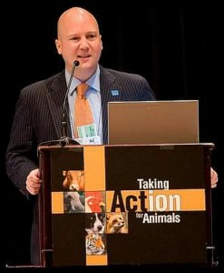 Humane Society Legislative Fund president Mike Markarian