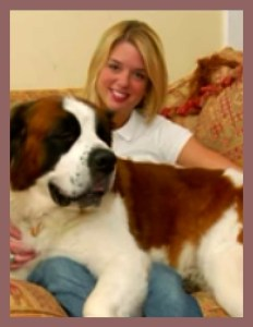 Pam Bondi has had several St. Bernards. This is not the one involved