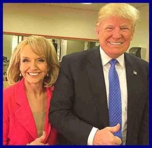 Jan Brewer & Donald Trump. (Facebook photo)