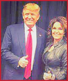 Donald Trump & Sarah Palin. (Facebook photo)