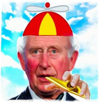 Prince Charles with Kazoo