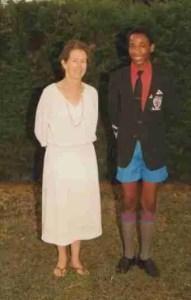 Rosalie Osborn & Josphat Ngonyo at about age 14.