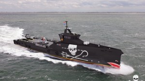 Artist's concept of the Sea Shepherd ship now under construction.