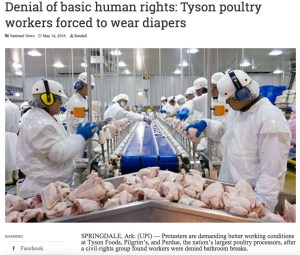 Tyson workers