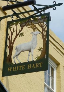 White Stag Bar Sign