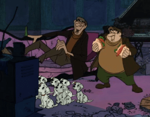 Horace & Jasper (From 101 Dalmatians)