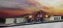 New Humane Society of Elkhart County animal shelter.  (Artist's rendering.)
