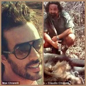 Max & Claudio Chiarelli. (Facebook photos)