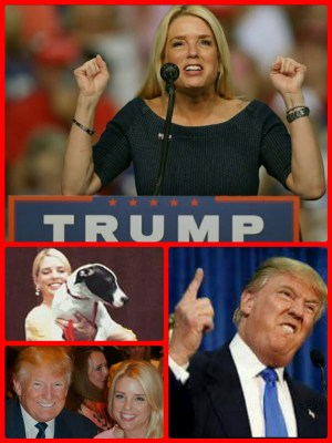 Pam Bondi & Donald Trump