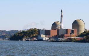 The Indian Point nuclear reactors.  (Roger Witherspoon photo)