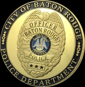 Baton Rouge police department badge