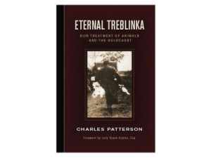 Use of Holocaust imagery came into vogue in animal advocacy after the 2002 publication of Eternal Treblinka, by Charles Patterson.