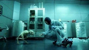 """Truth at the CDC appears to have been at times scarier than science fiction.  Above:  scene from """"Splice."""""""