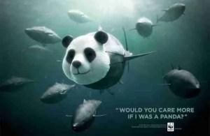 World Wildlife Fund poster.