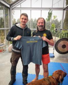 Zohal and Wim Hof