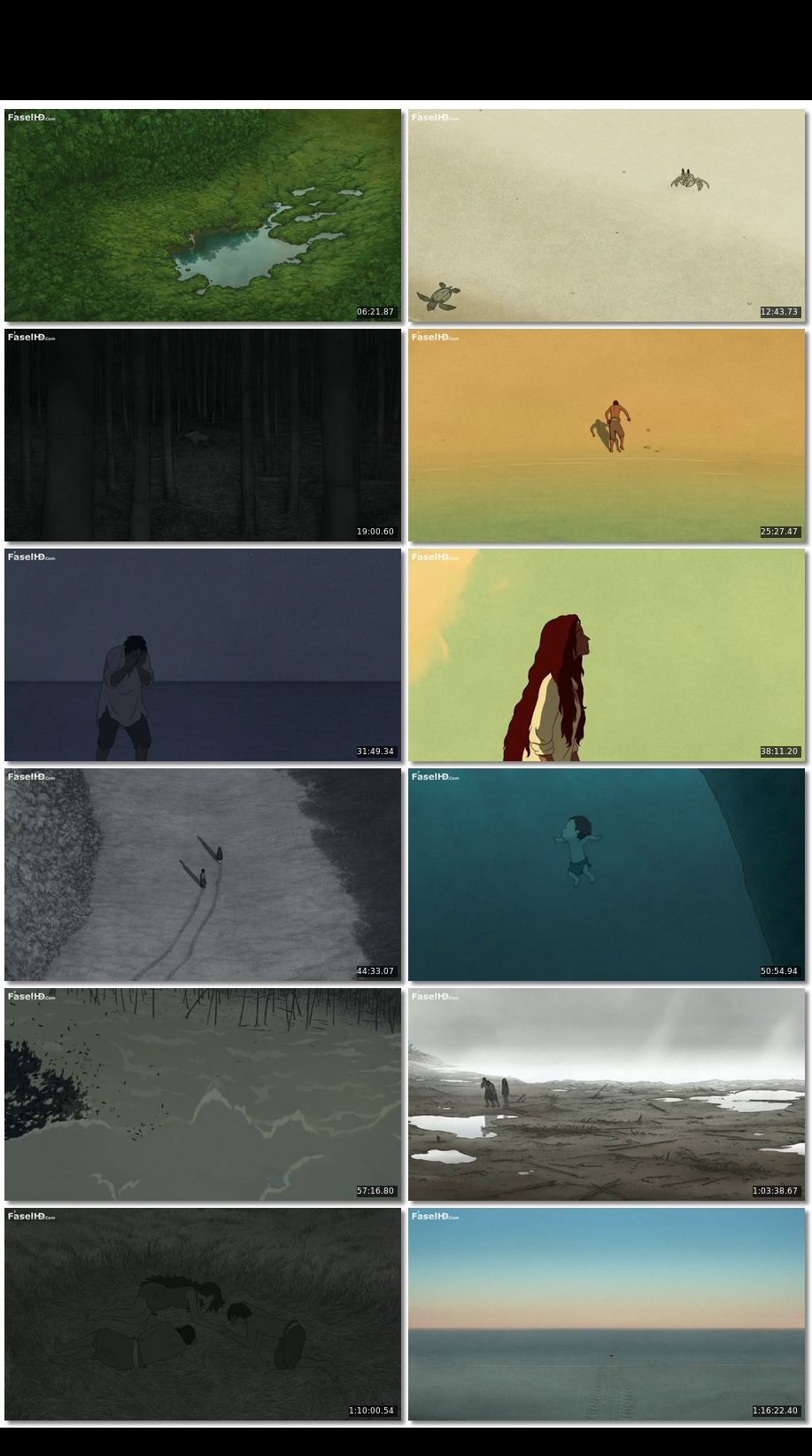 The Red Turtle 2016 480p Webdl English Download Animation Hindi Dubbed