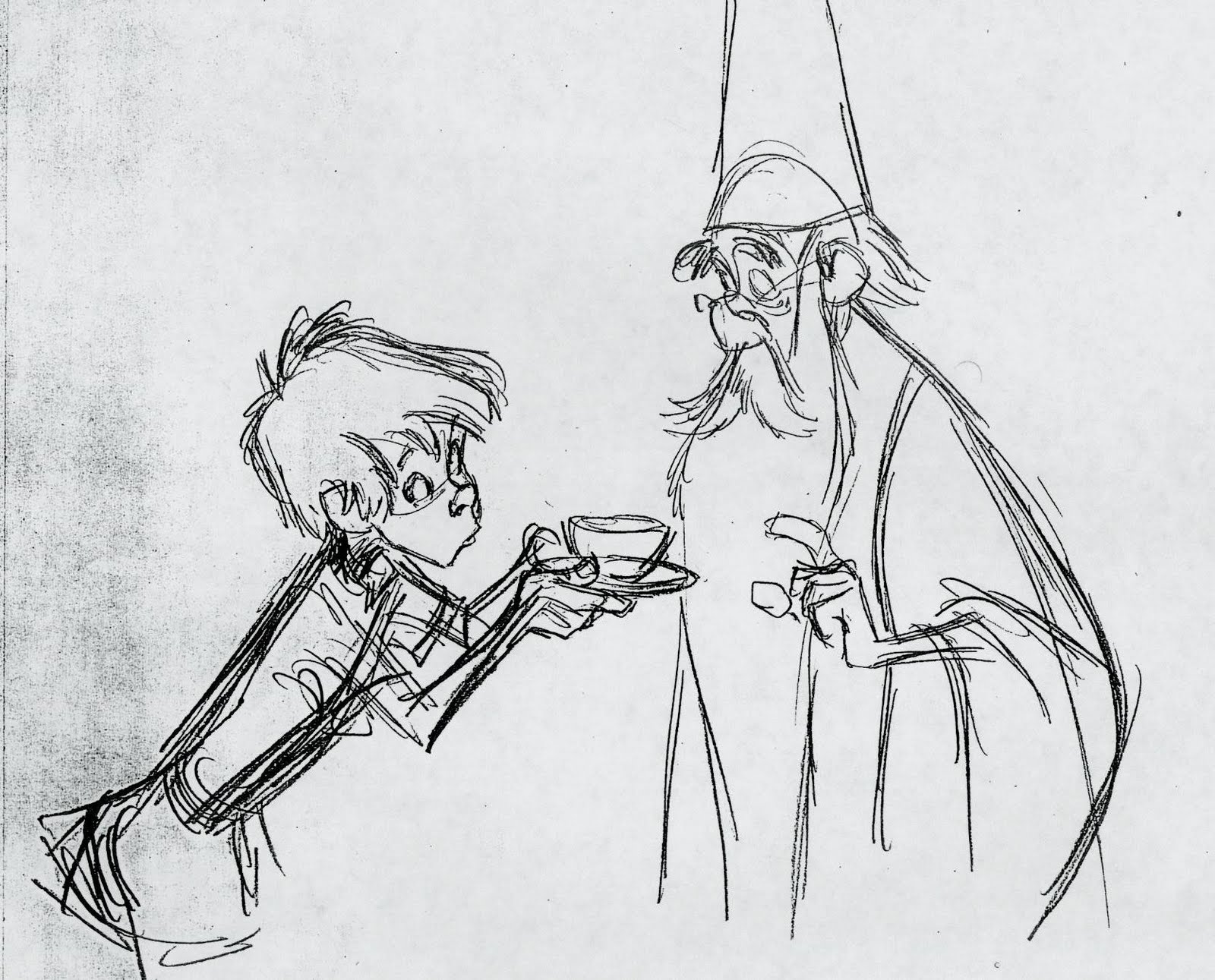 an analysis of kays rough end in the movie the sword in the stone In search for a sword for kay to use in a tournament toward the end of the film,  arthur pulls the sword from the stone, giving him the new title of king of britain.