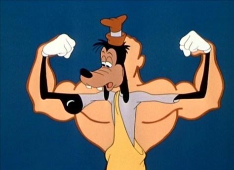 Goofy-gymnastics