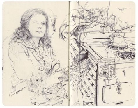 JamesJeanSketchbook