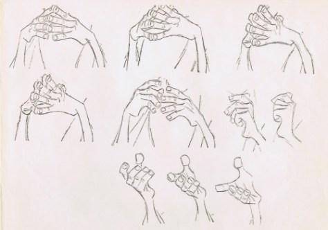 Merlin's hands