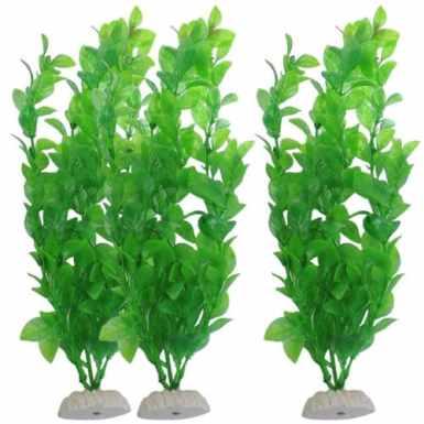 Plante aquatique acheté sur Ebay -> Comment créer une jungle miniature avec des plantes en plastique pour aquarium ?