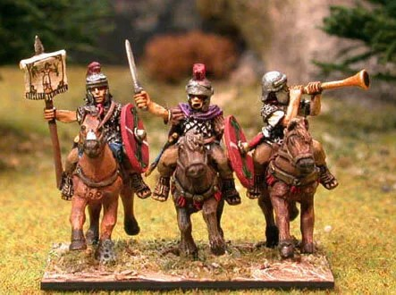 17-Animation-Figurine-Decors-figurine-Totentaz-miniatures-Cavalerie-Romaine-28mm