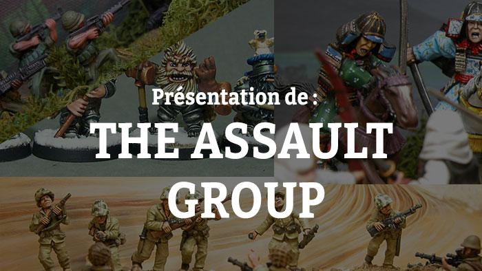 Animation-Figurine-Scenery --- Presentation-of-The-Assault-Group
