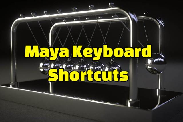 maya keyboard shortcuts