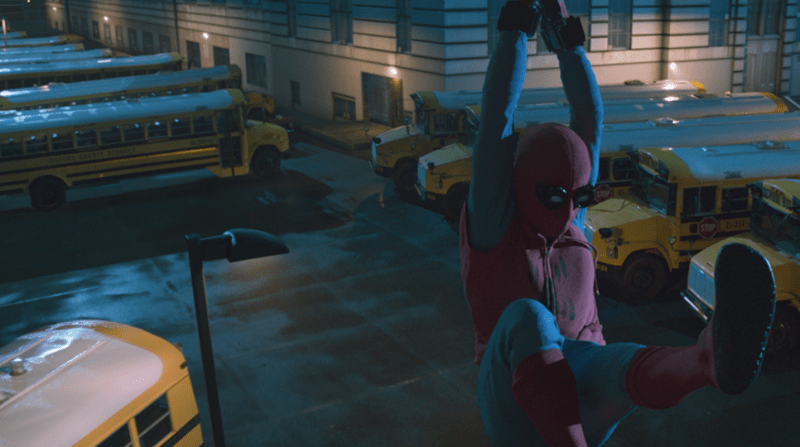 Spiderman Homecoming VFX