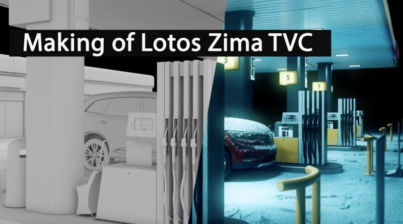 Making of Lotos Zima TVC