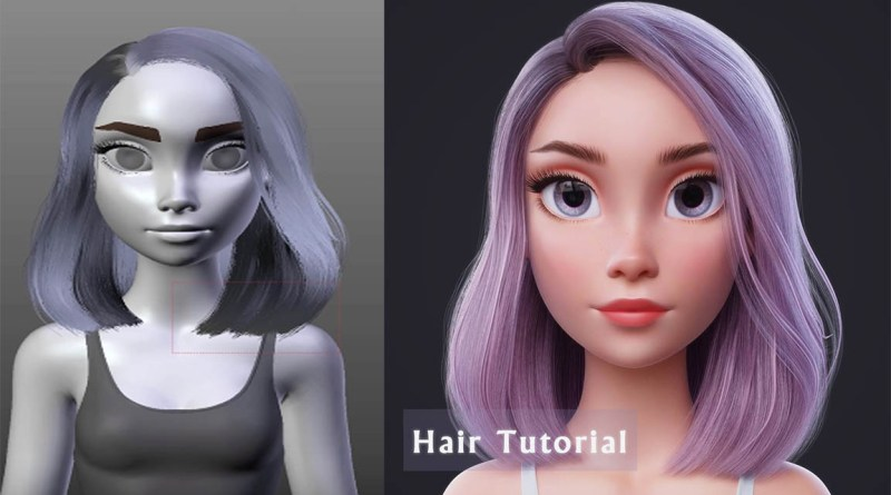 Blender Hair Tutorial