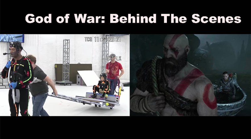 God Of War Behind Scenes