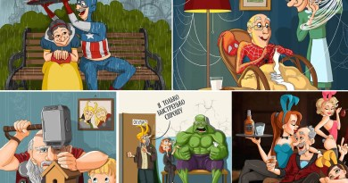 famous characters old age