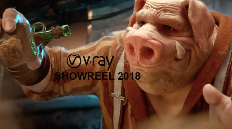 v-ray showreel