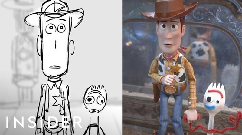 Toy Story 4 Animation