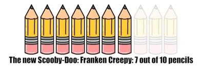 Frankencreepy Pencils
