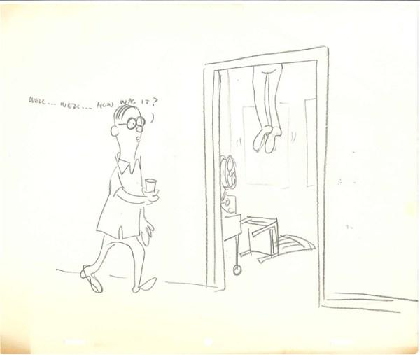 Bill Scott gag cartoons 054