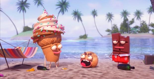 Dessert Island, an original series for Waffle on Gear VR.